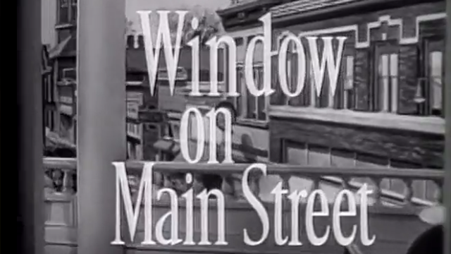 Window on Main Street