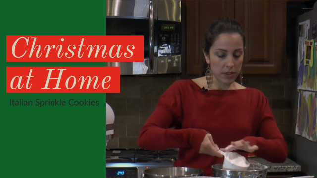 Christmas at Home: Italian Sprinkle Cookies